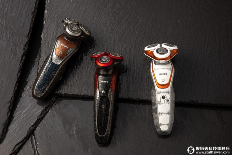 刮鬍星戰!第一軍團、韓索羅、BB-8經典星戰元素上身電鬍刀