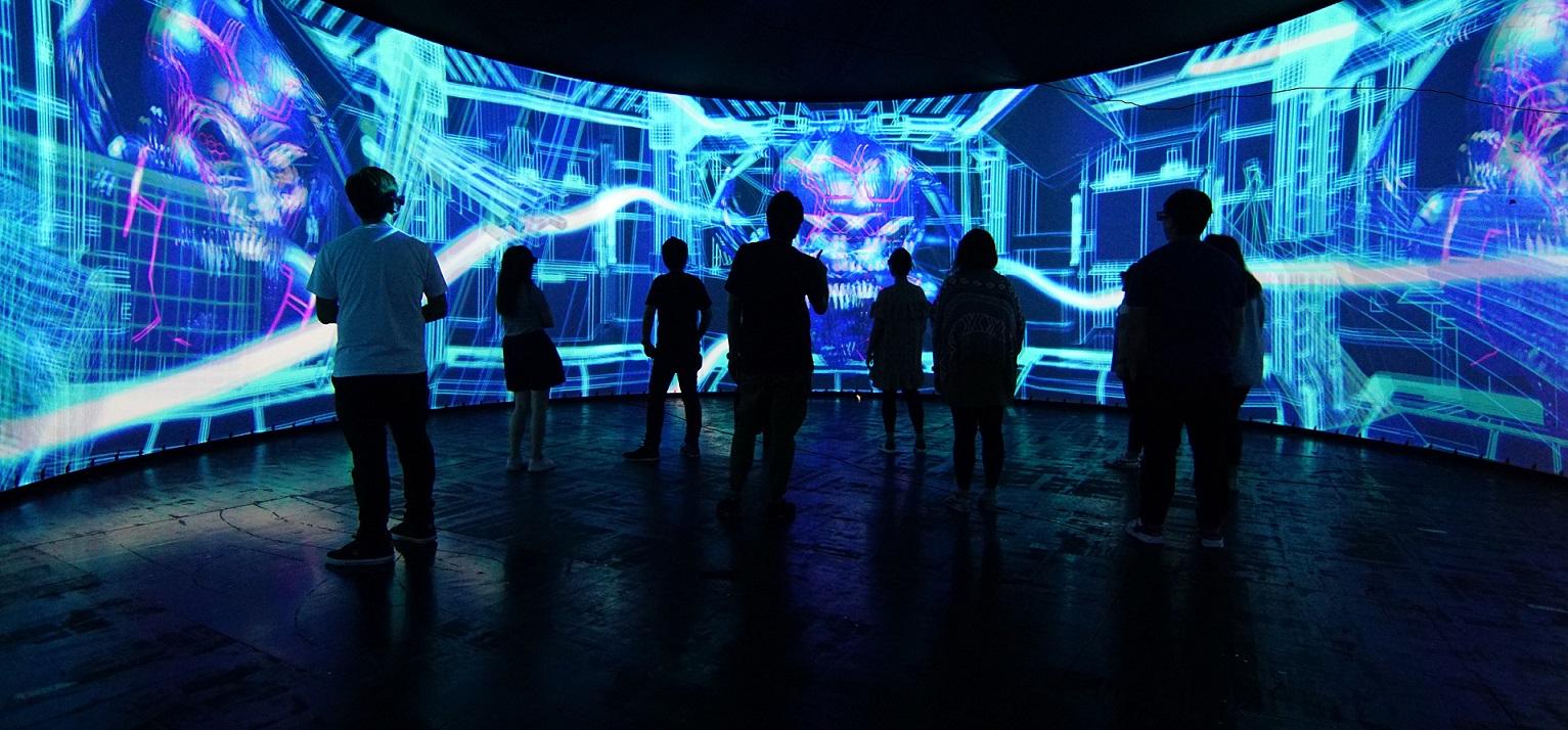 香港海洋公園哈囉喂全日祭2018,讓科技帶給你更多的刺激
