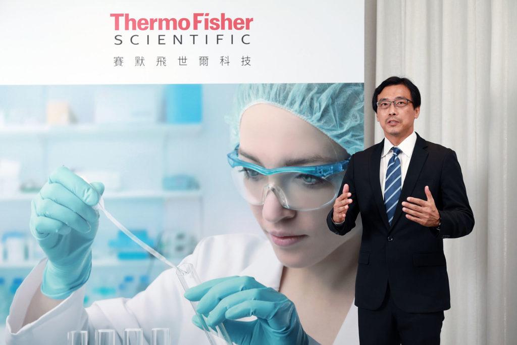 賽默飛世爾科技台灣層析暨質譜總監Allen Huang黃忠智