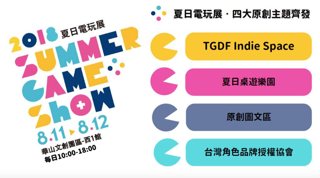 「2018 Summer Game Show夏日電玩展」廣宣
