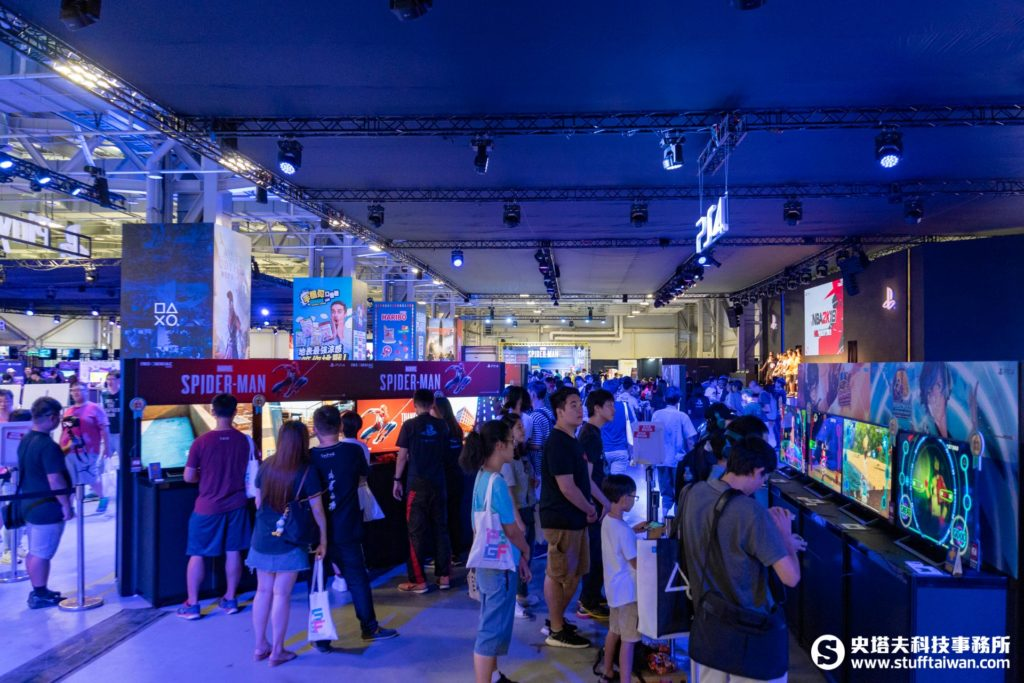 2018 PlayStation遊戲娛樂嘉年華試玩區