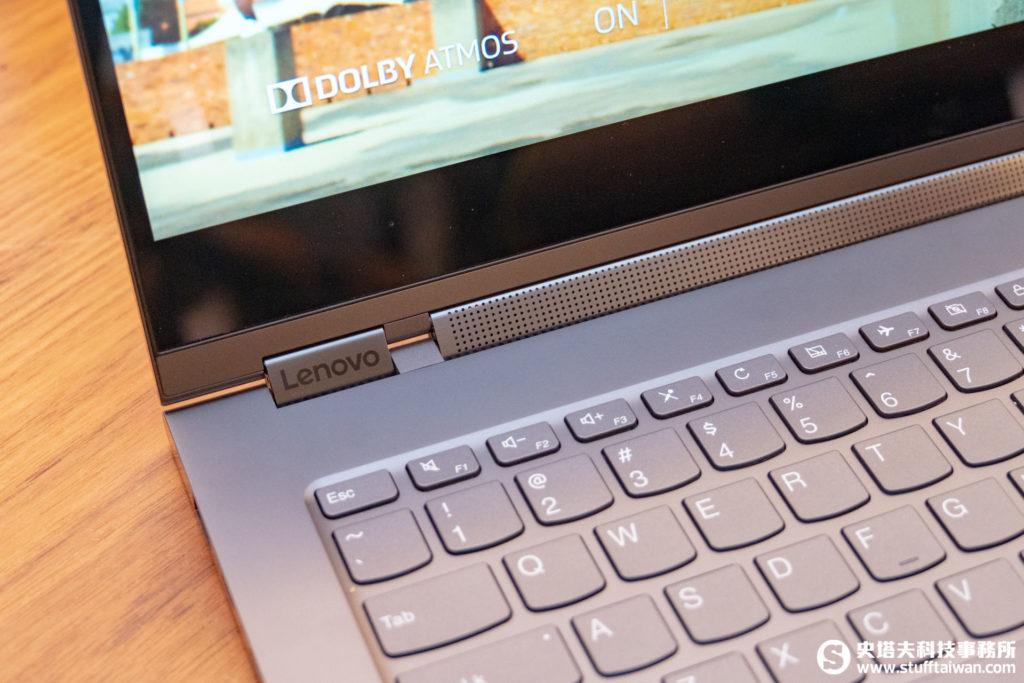 Yoga C930 Sound bar特寫