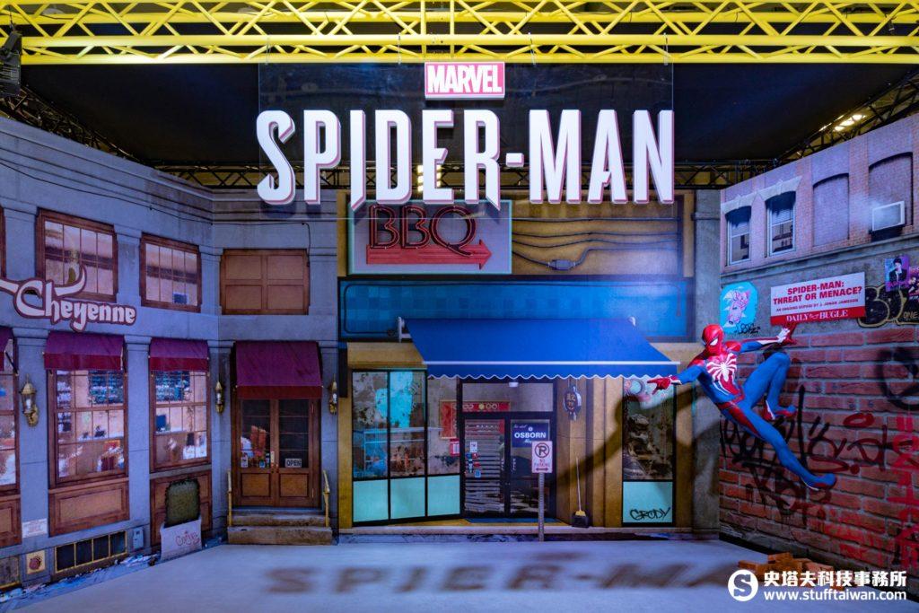 《Marvel's Spider-Man》情境區