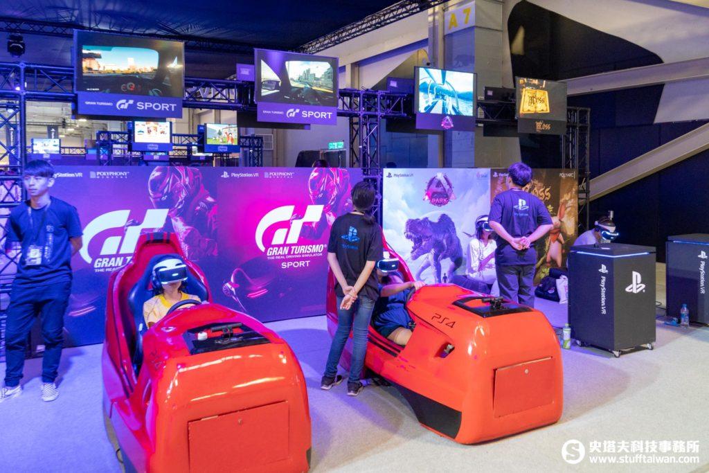 PS VR試玩區