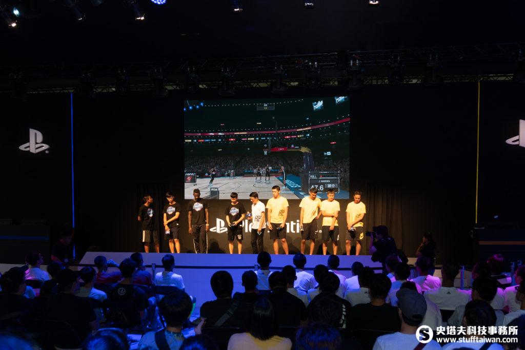「鬥陣舞台」上HBL南山高中與泰山高中以《NBA 2K18》一較高下
