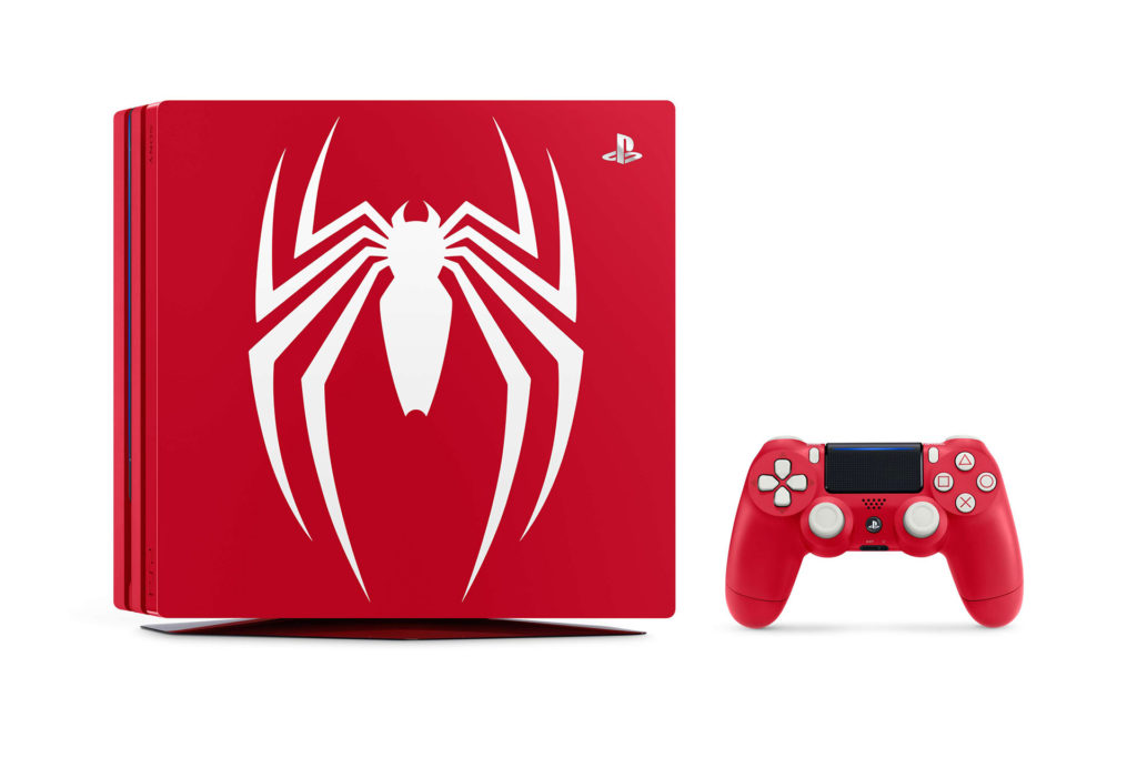 PS4 Pro Marvel's Spider-Man限定版同捆組