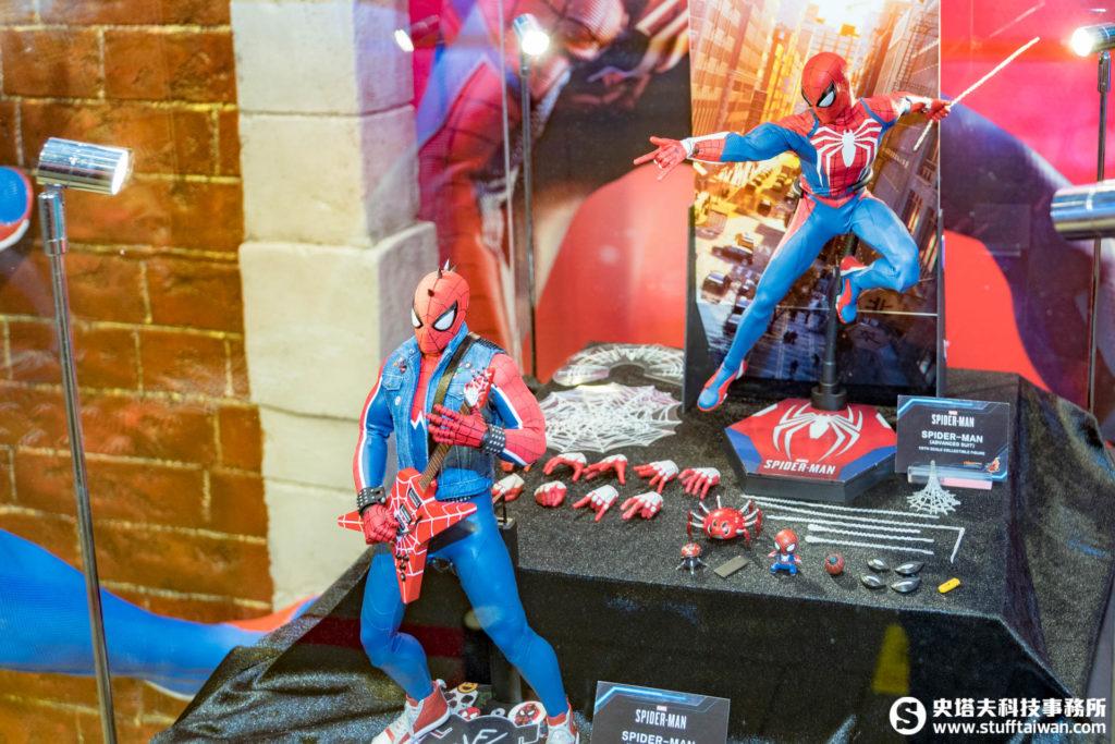 PS4《Marvel's Spider-Man》先進戰衣款1:6珍藏人偶