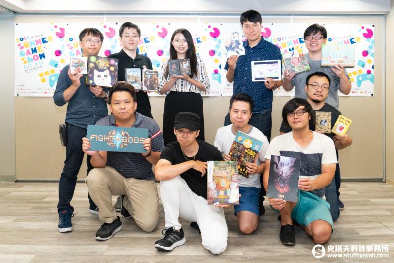 「2018 Summer Game Show夏日電玩展」參展廠商大合照