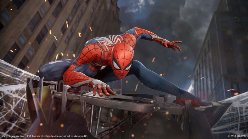 《Marvel's Spider-Man》遊戲畫面