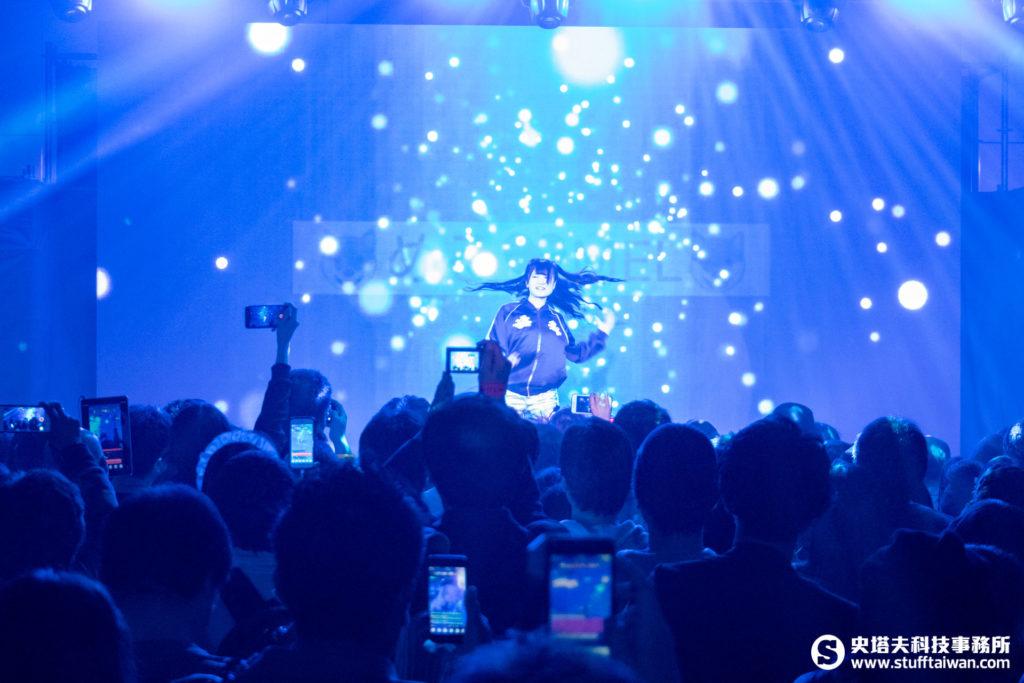 「超級直播祭典」頒獎典禮舞台表演