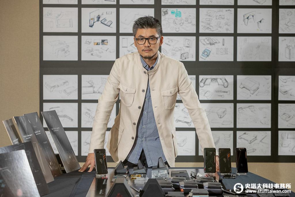 華碩手機設計團隊總監林亮仁