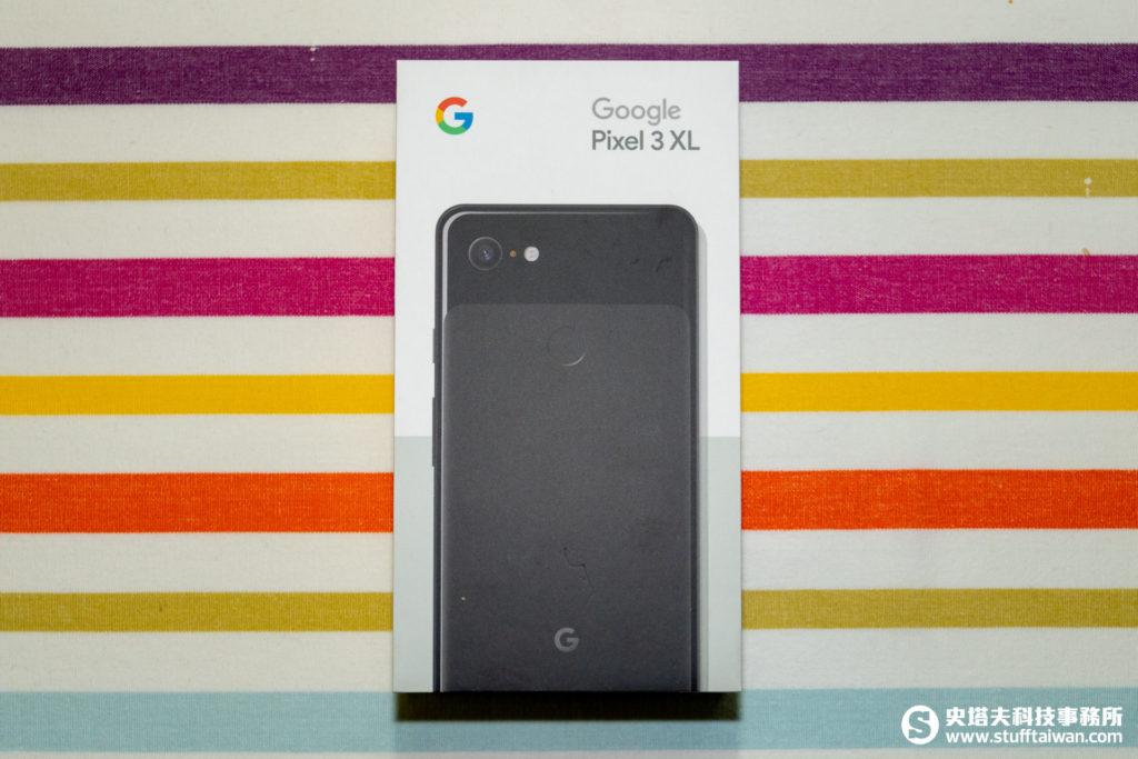 Pixel 3 XL包裝正面