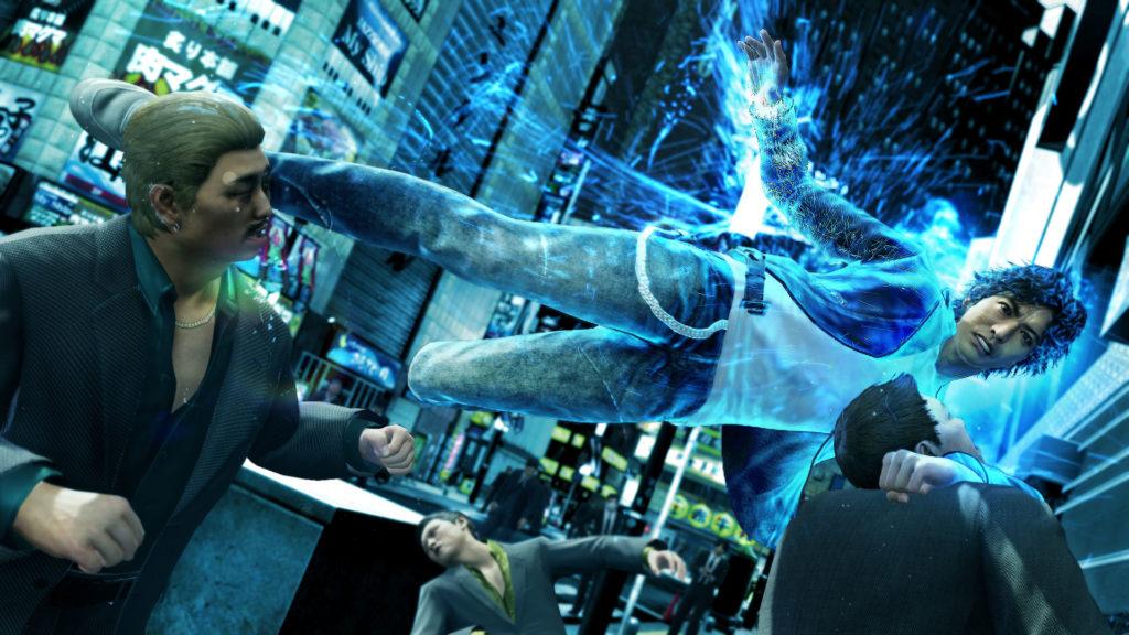 《審判之眼:死神的遺言》戰鬥遊戲畫面