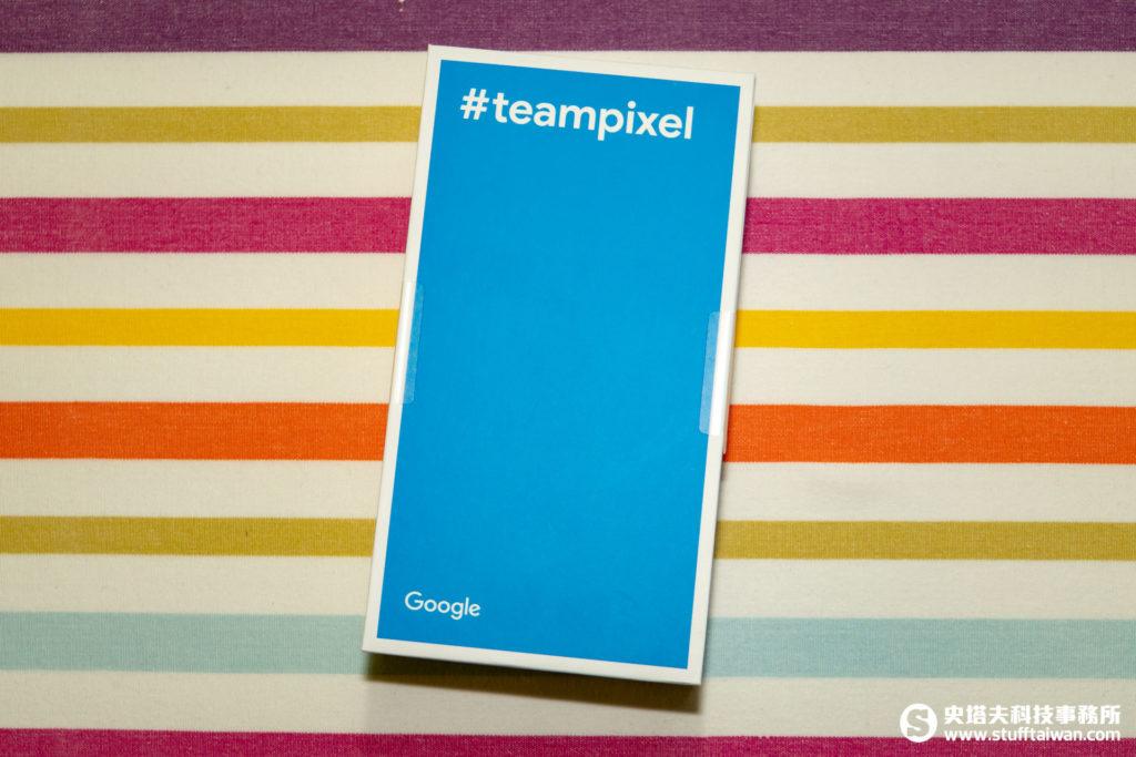 Pixel 3 XL包裝背面
