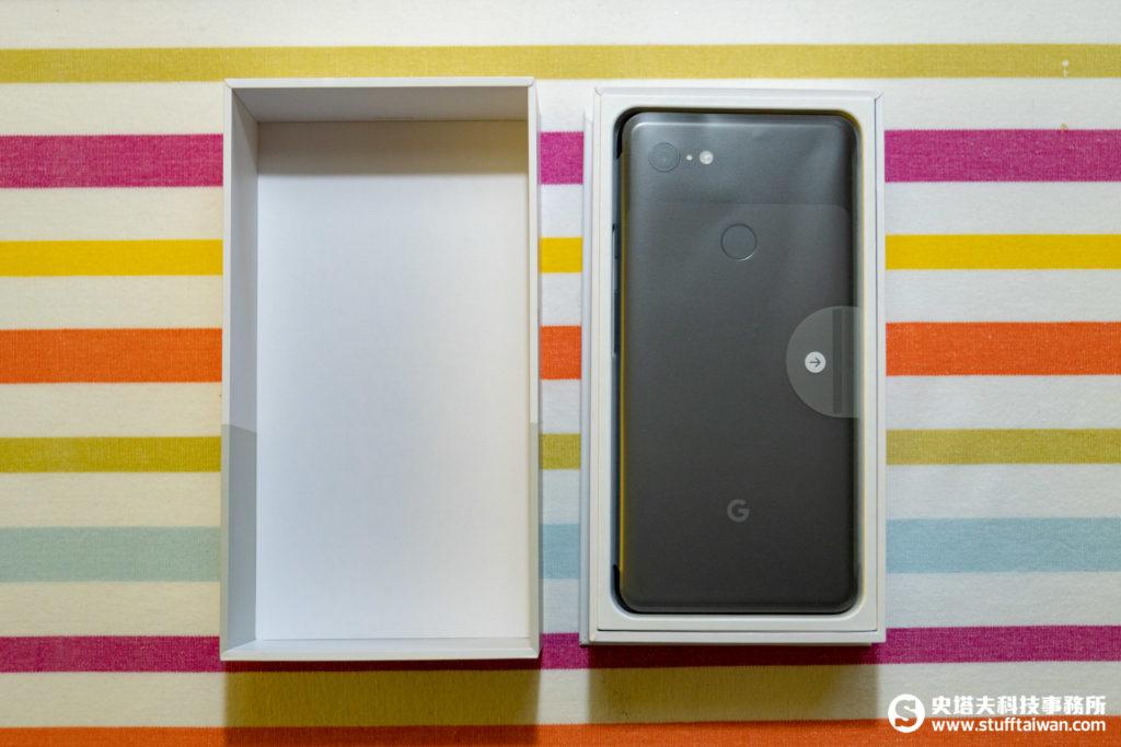 Pixel 3 XL包裝打開