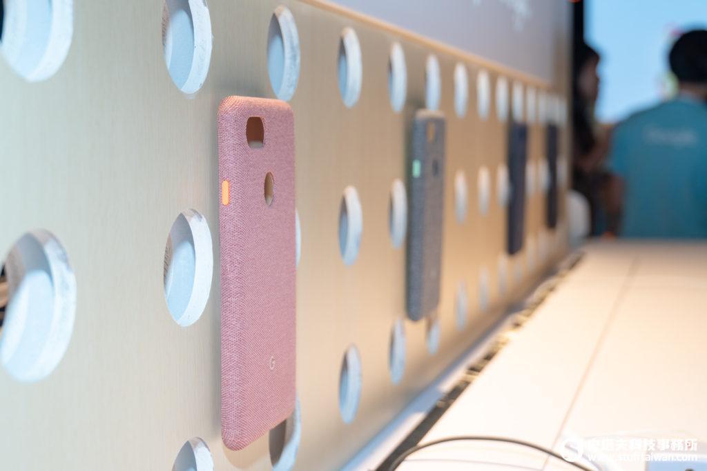 Google Pixel 3專屬針織面料保護殼