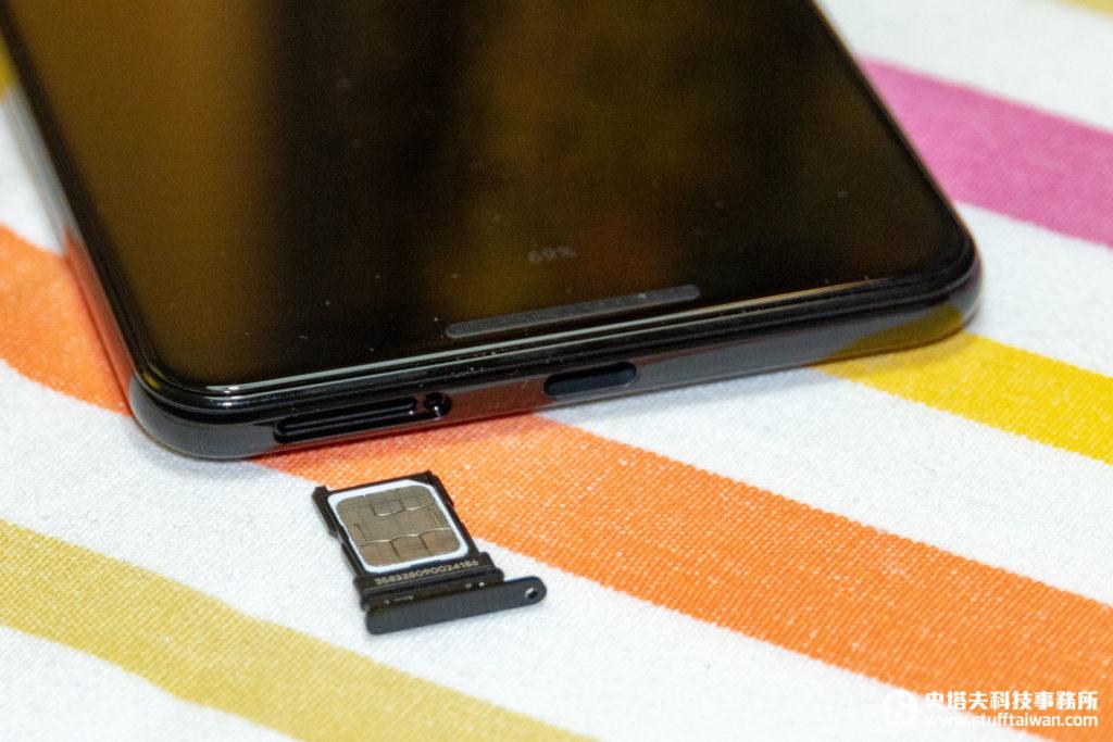Pixel 3 XL sim卡托盤