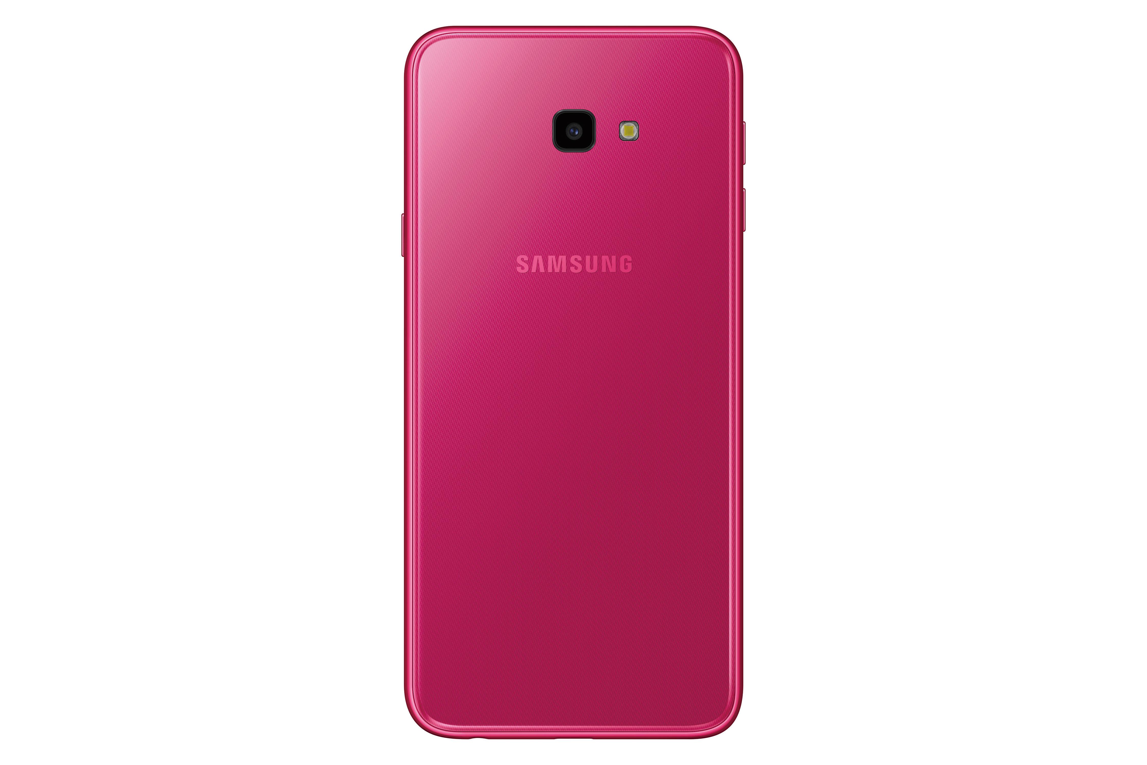 Galaxy J4+ 背面_桃紅色