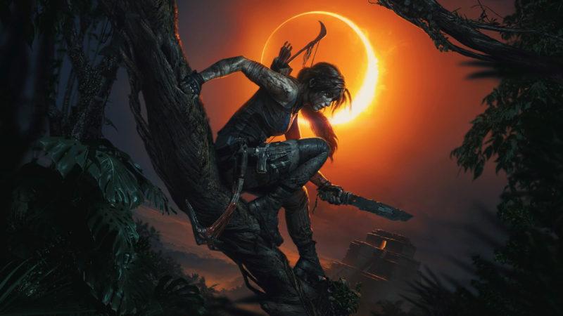 《古墓奇兵:暗影》宣傳主視覺