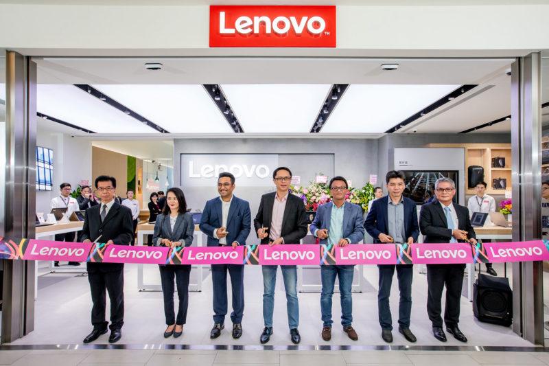 Lenovo直營體驗店剪綵儀式