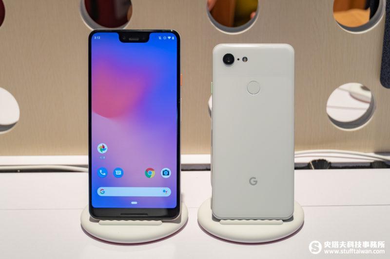 Google Pixel 3與Google Pixel 3 XL