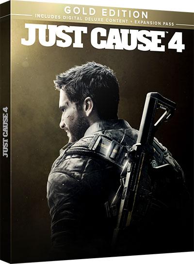 PS4《JUST CAUSE 4 黃金版》遊戲盒裝