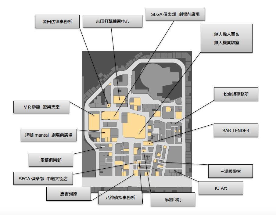 神室町地圖