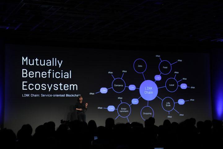 LINE技術長朴懿彬說明將以串連與互惠生態圈兩大重點實現「Next LINE」