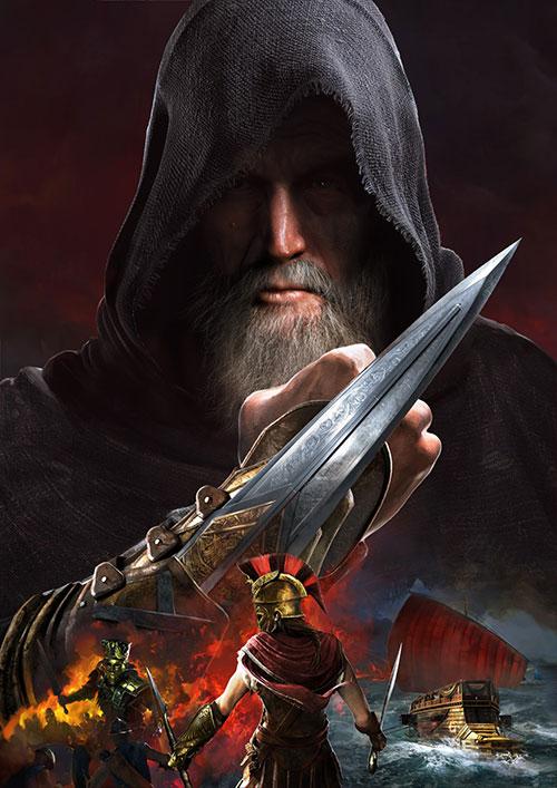 《刺客教條:奧德賽》「第一把袖劍的傳承」第一集「全面獵殺」宣傳圖