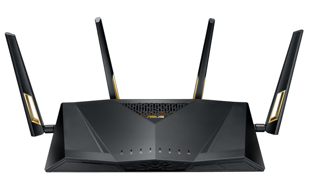 ASUS RT-AX88U 802.11ax雙頻無線路由器正面