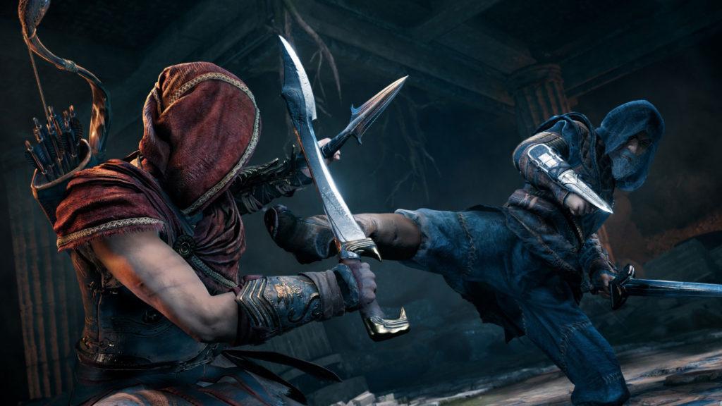 《刺客教條:奧德賽》「第一把袖劍的傳承」第一集「全面獵殺」遊戲畫面