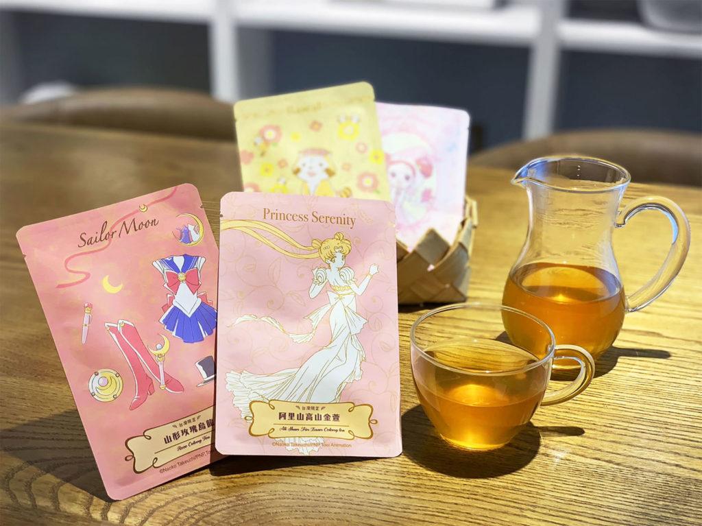 「大女孩美好小時光」台灣獨家限定茶包明信片