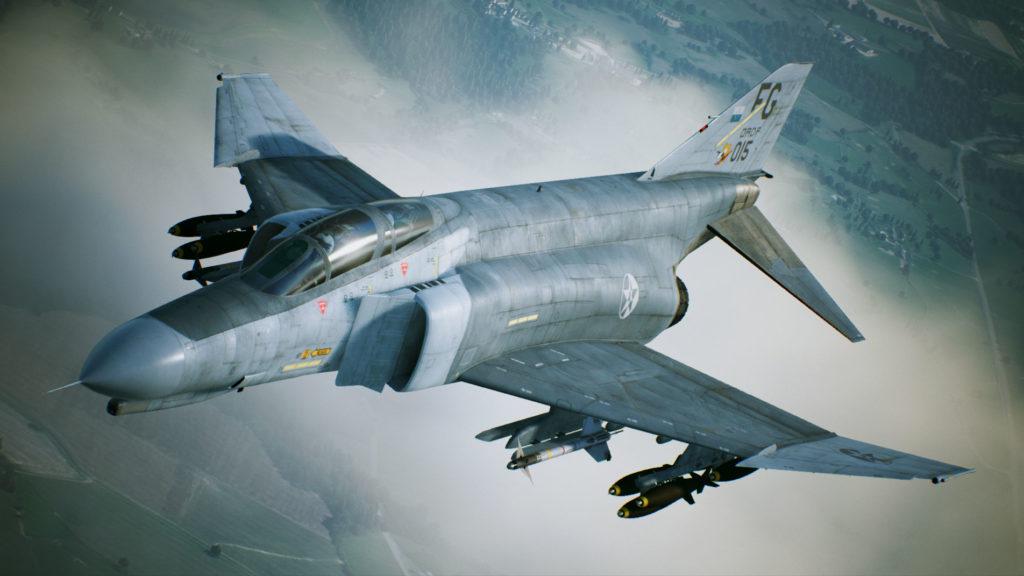 《空戰奇兵7 未知天際》F-4E PhantomⅡ