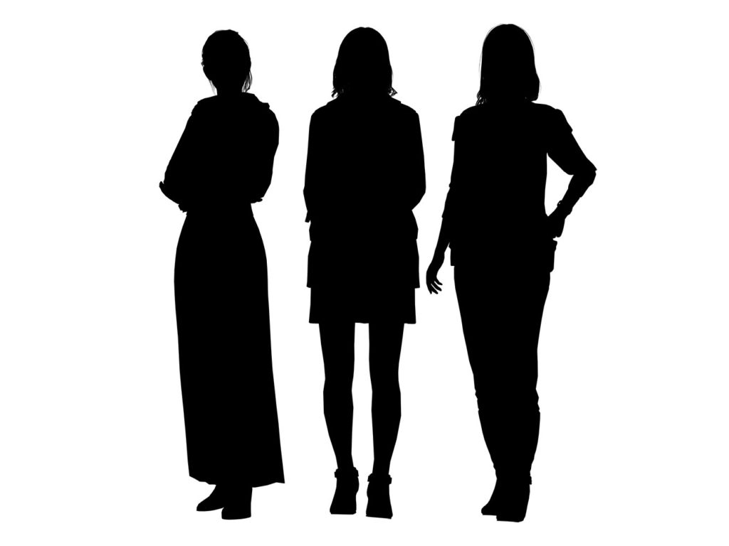 《審判之眼:死神的遺言》遊戲中尚未現身的女性好友剪影