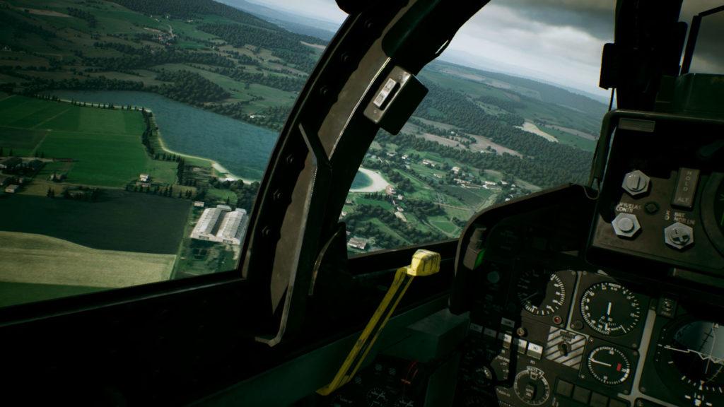 《空戰奇兵7 未知天際》F-4E PhantomⅡ駕駛艙視野