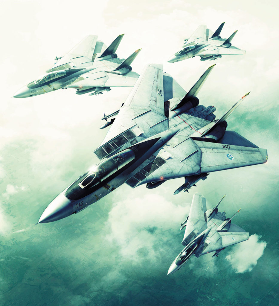 《ACE COMBAT 5 THE UNSUNG WAR》主視覺