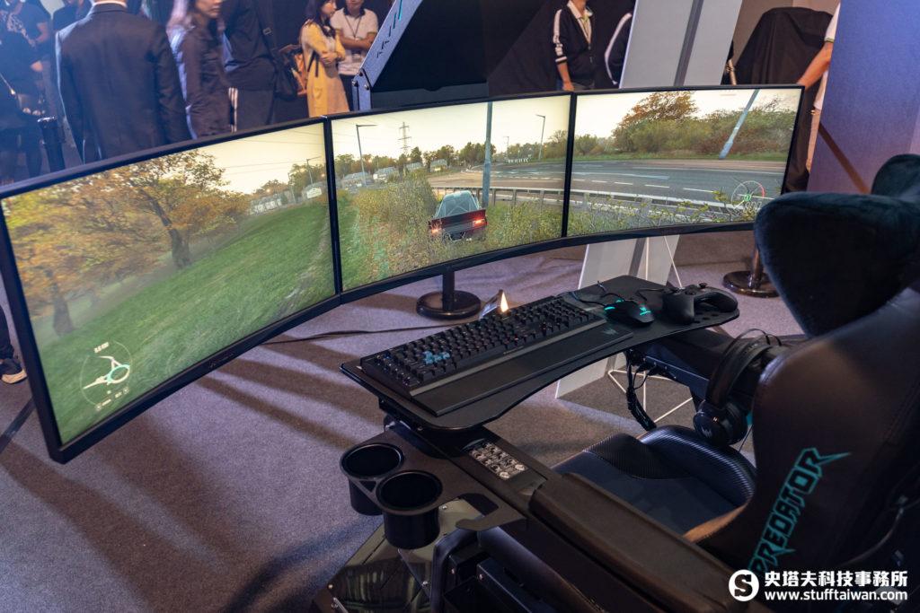 Acer Predator Thronos電競座艙座位特寫