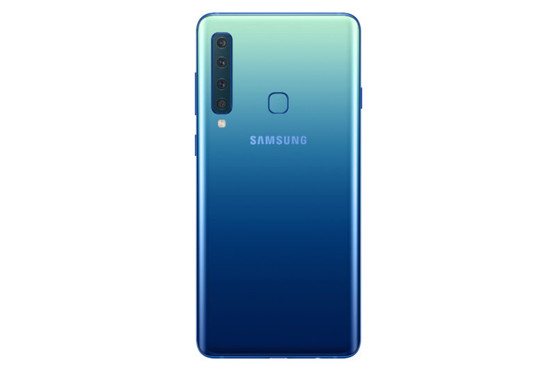 Galaxy A9 檸檬藍