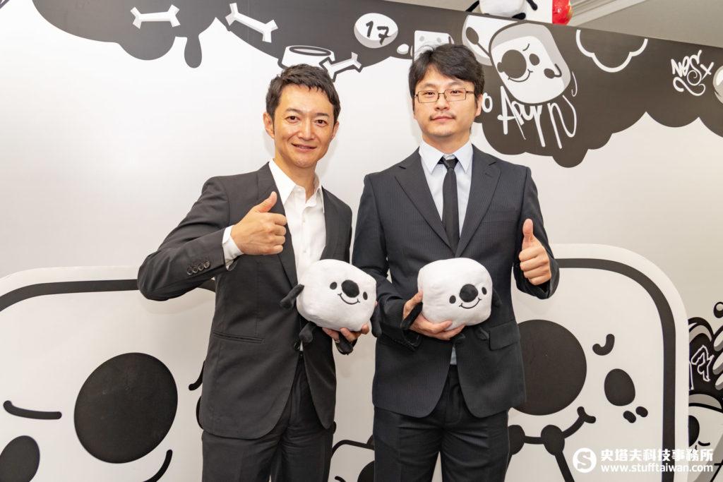 株式会社17 Media Japan執行長小野裕史(左),M17 Entertainment集團營運長張牧寧(右)