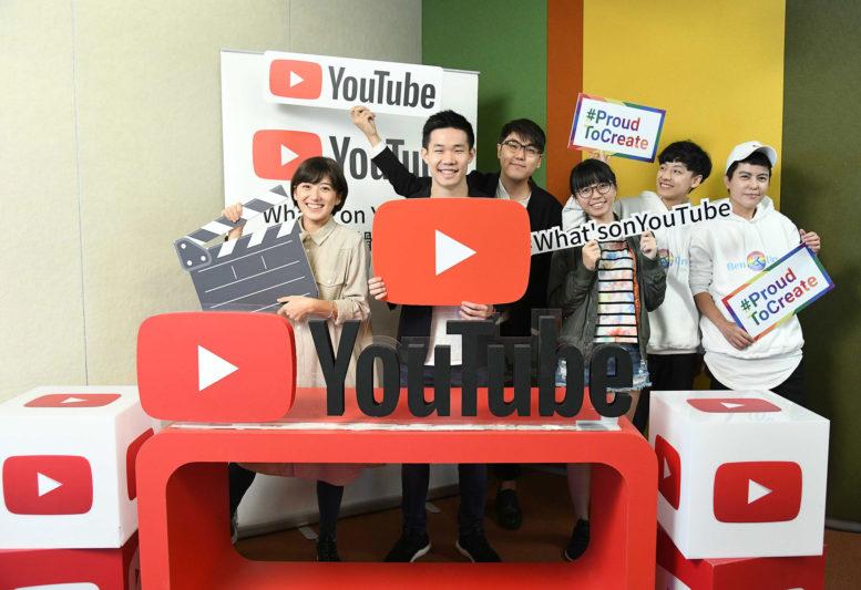YouTuber大合照