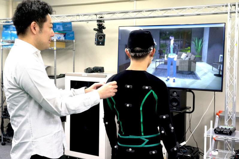 虛擬主播工作情境
