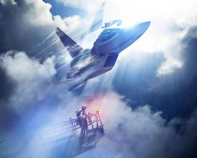 《空戰奇兵7 未知天際》主視覺