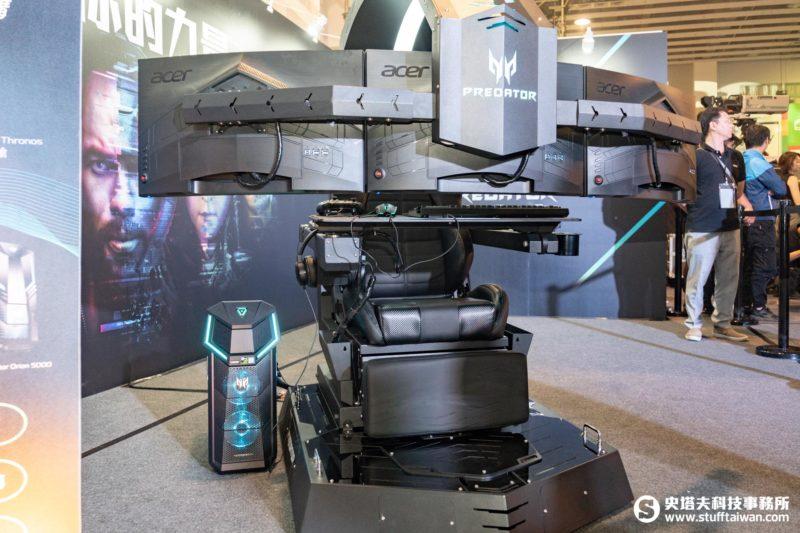 Acer Predator Thronos掠奪者電競座艙