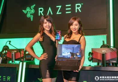 Razer Phone 2電競手機及Razer Blade 15 Base Model電競筆電情境照