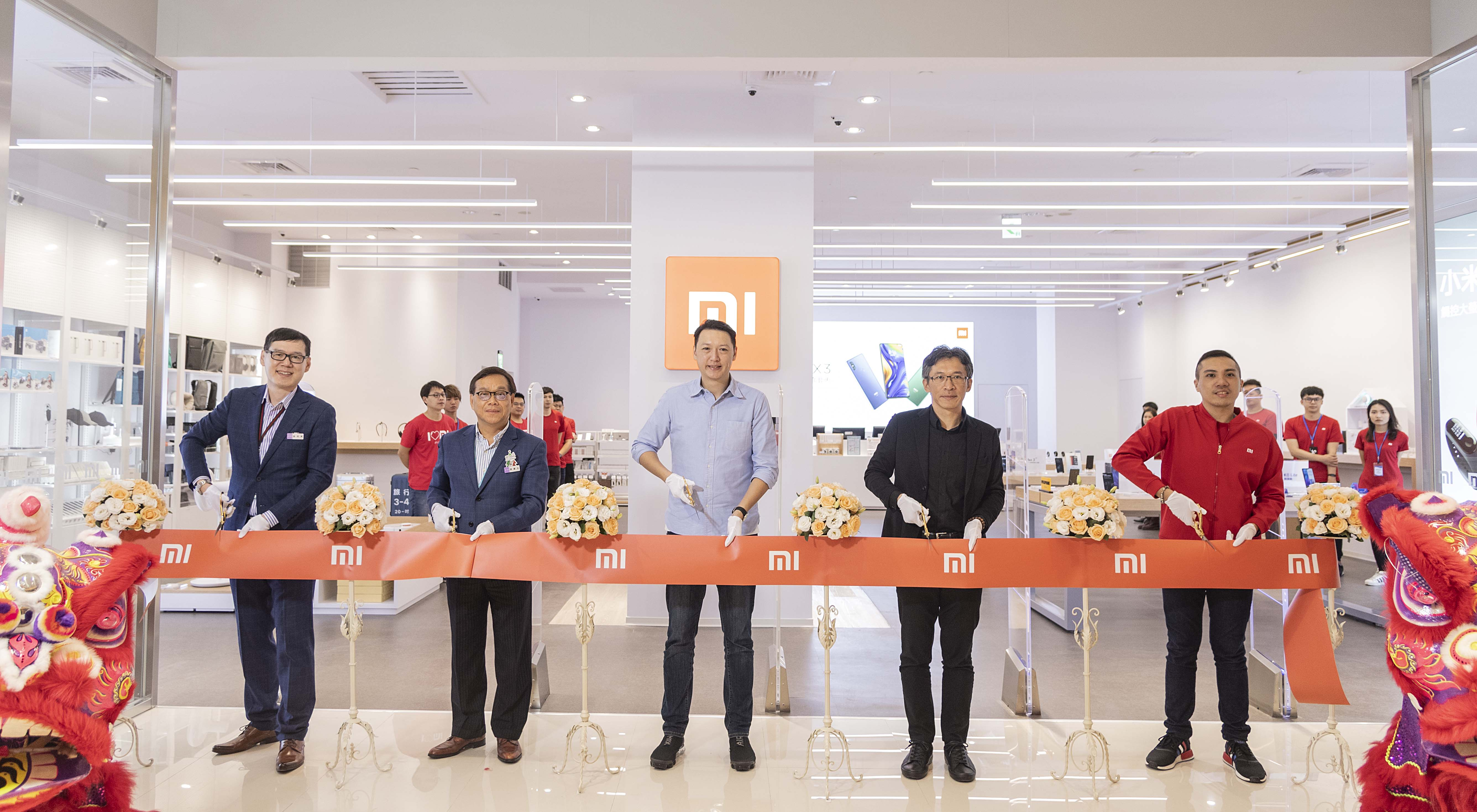 小米高雄夢時代專賣店 正式開幕  宜蘭新月專賣店12月22日接棒開幕