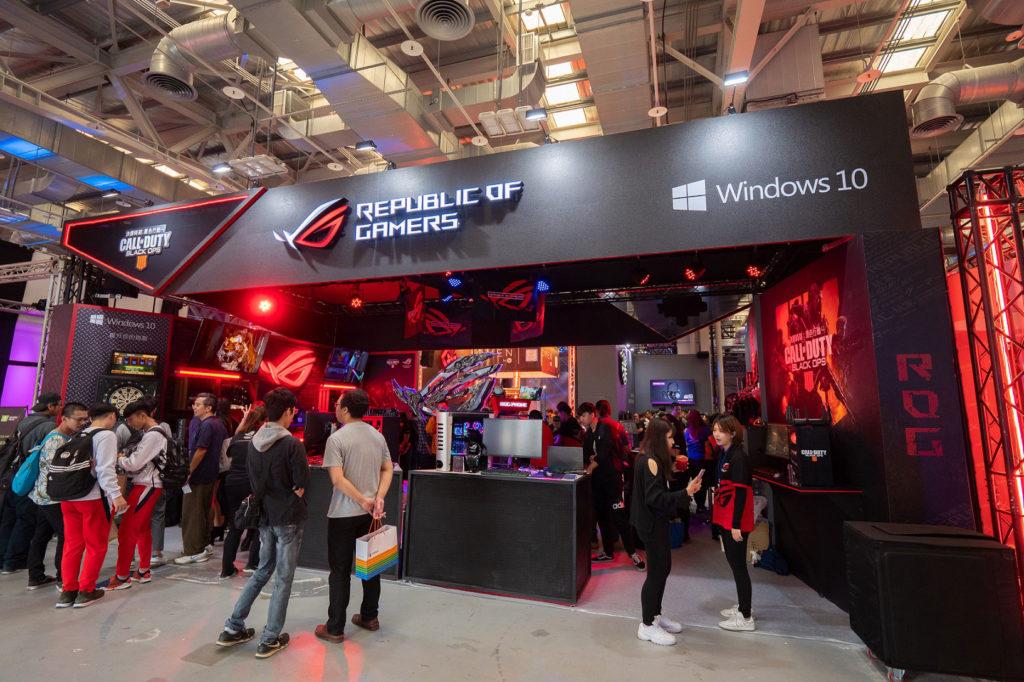 WirForce 2018華碩ROG玩家共和國攤位