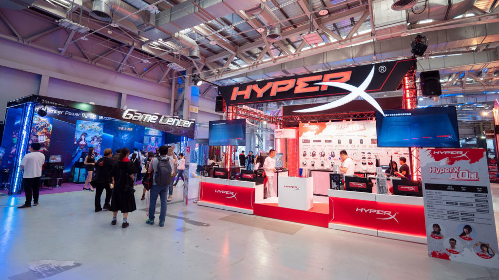 WirForce 2018 HyperX攤位