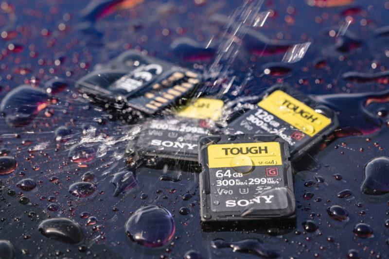 Sony SF-G Tough UHS-II SD記憶卡