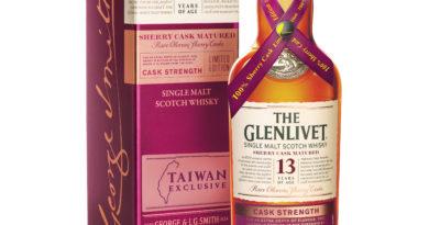 格蘭利威13年雪莉桶原酒單一麥芽蘇格蘭威士忌 升級上市