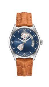 爵士動芯系列藍面款單錶圖